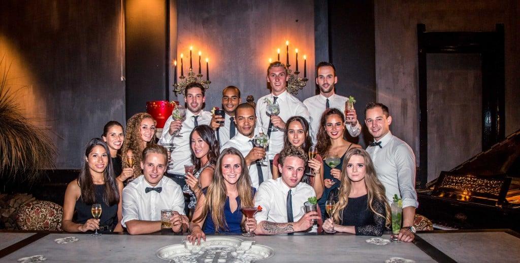 Bartenders Shake and Serve
