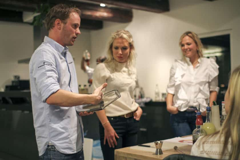 Cocktail workshop Amsterdam